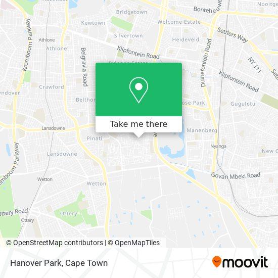 Hanover Park map
