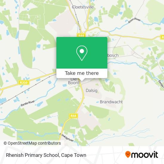 Rhenish Primary School map