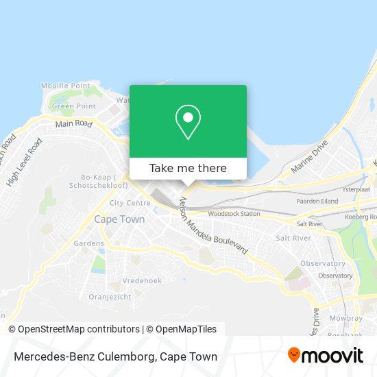 Mercedes-Benz Culemborg map