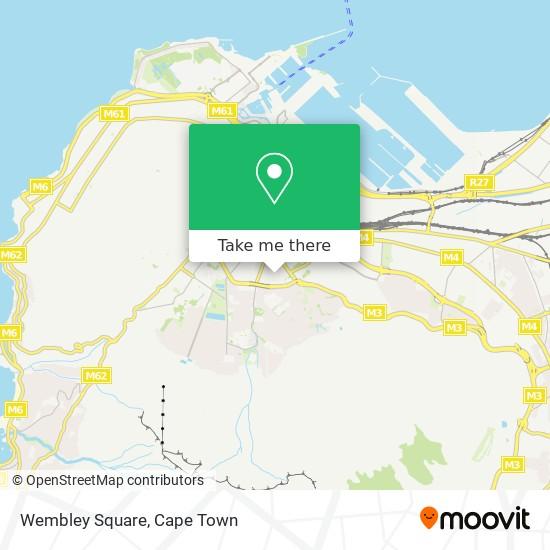 Wembley Square map