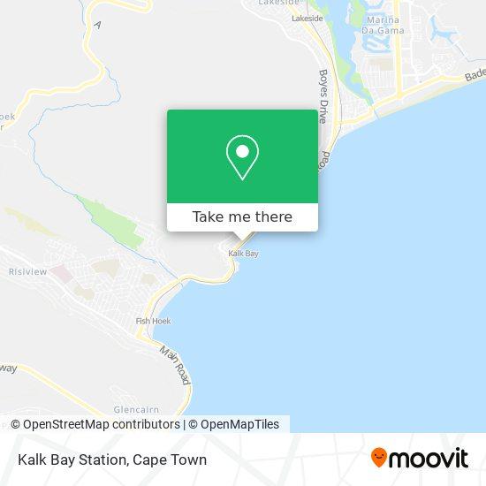 Kalk Bay Station map