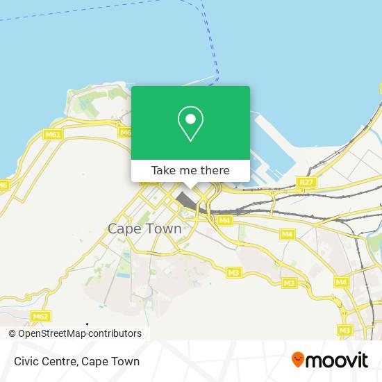 Civic Centre map
