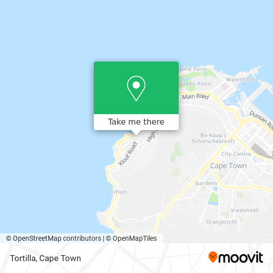 Sea Point Post Office map