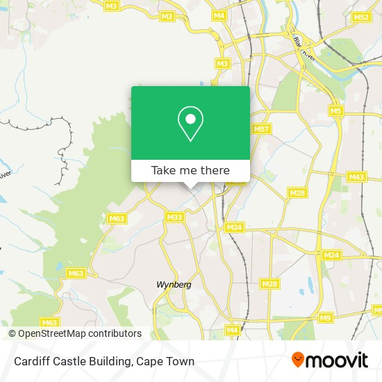 Cardiff Castle Building map