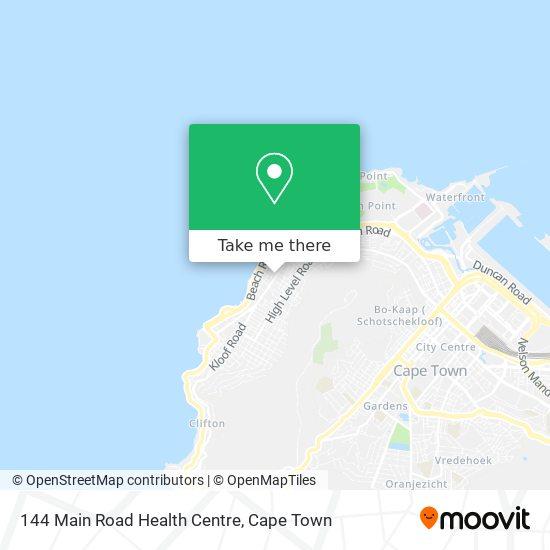 144 Main Road Health Centre map
