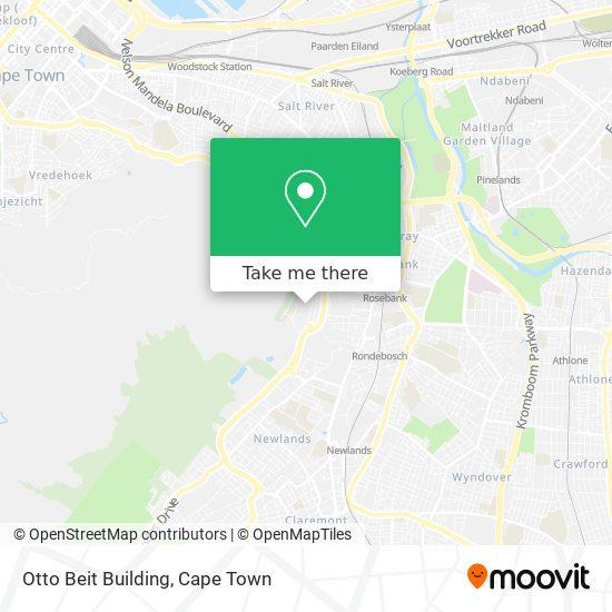 Otto Beit Building map