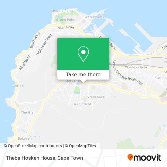 Thebe Hoskins House map