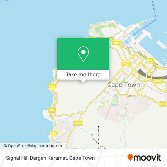 Signal Hill Dargan Karamat map