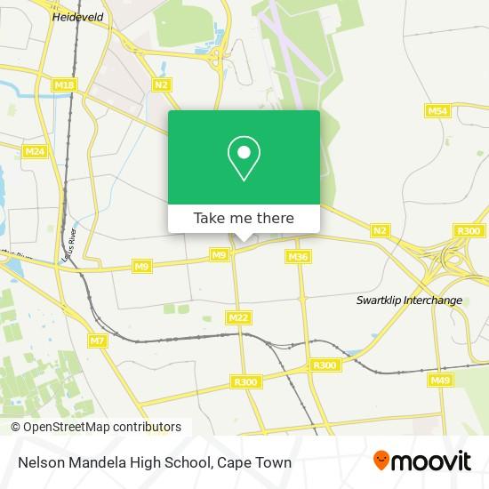 Nelson Mandela High School map