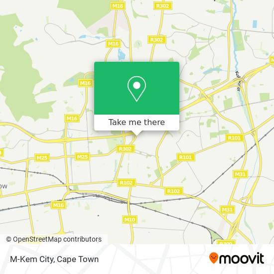 M-Kem City map