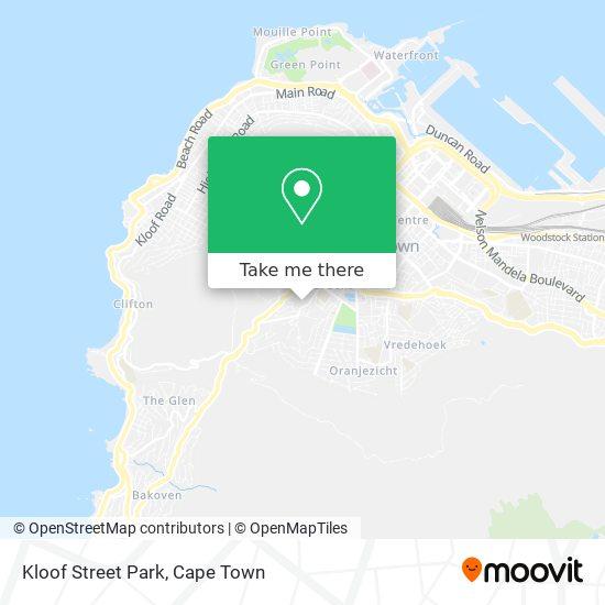 Kloof Street Park map
