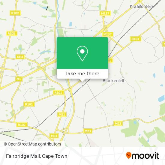 Fairbridge Mall map
