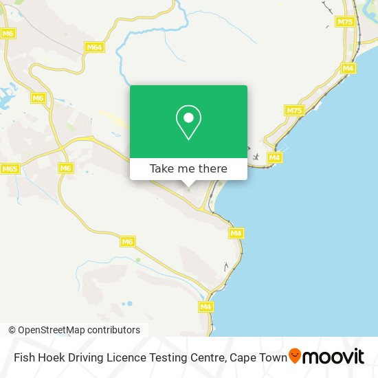 Fish Hoek Driving Licence Testing Centre map
