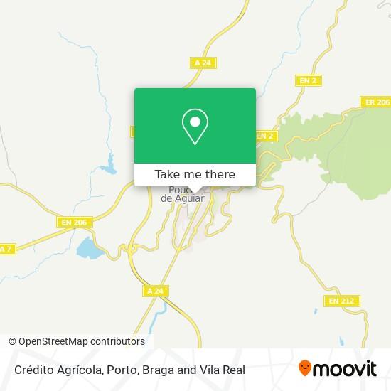Crédito Agrícola map