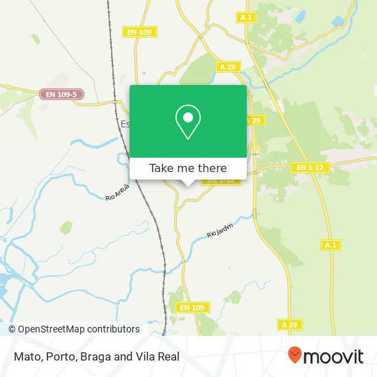 Mapa Mato