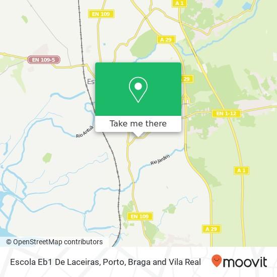 Mapa Escola Eb1 De Laceiras