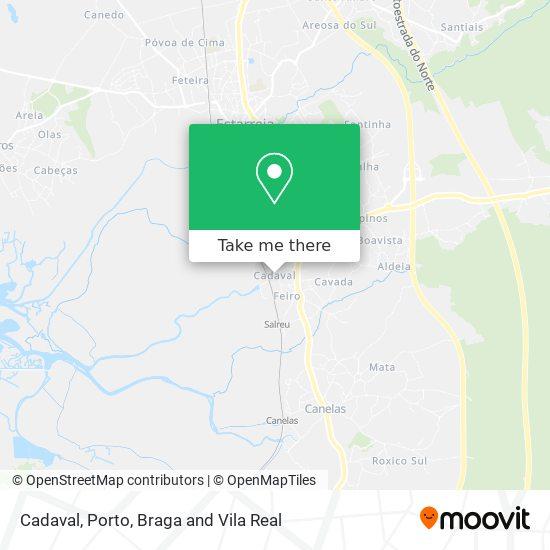Mapa Cadaval