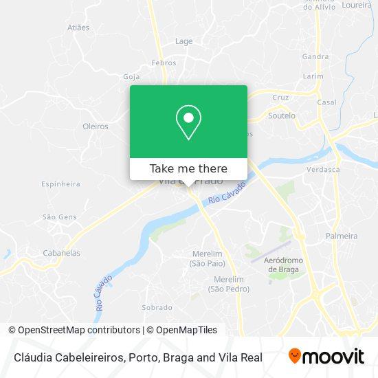 Cláudia Cabeleireiros Karte