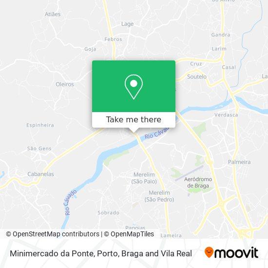 Mini-Mercado Da Ponte Karte