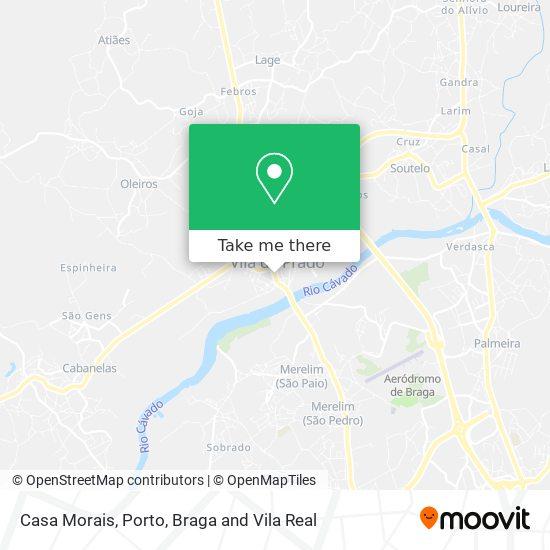 Casa Morais Karte