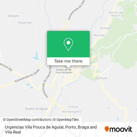 Urgencias Vila Pouca de Aguiar plan