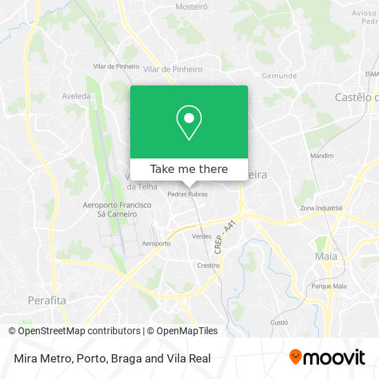 Mira Metro map