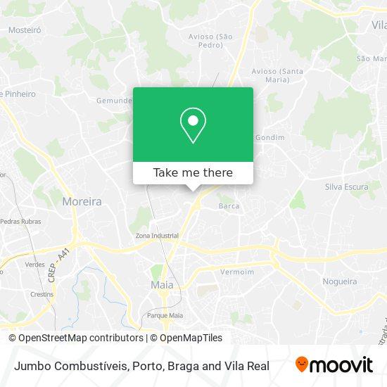 Jumbo Combustíveis map