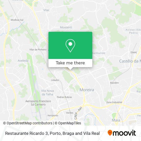 Restaurante Ricardo 3 plan