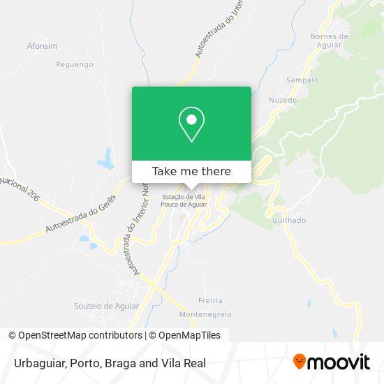 Urbaguiar map