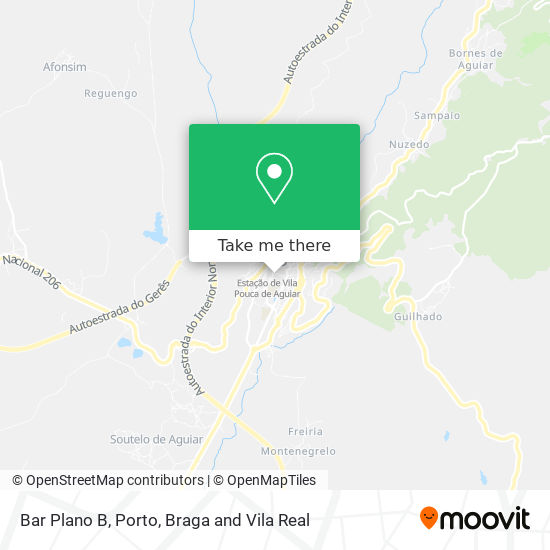 Bar Plano B map