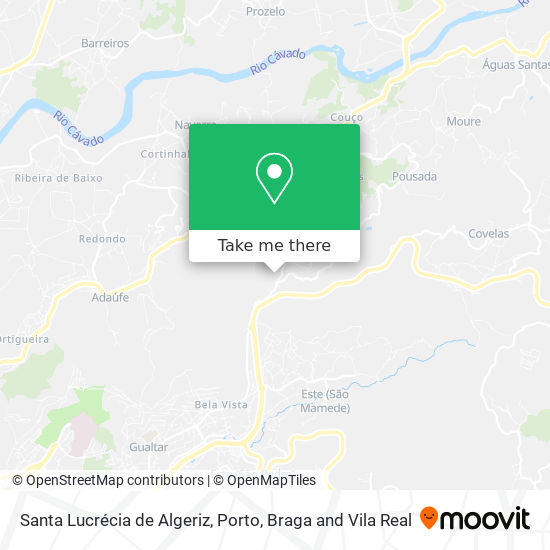 Santa Lucrécia de Algeriz plan