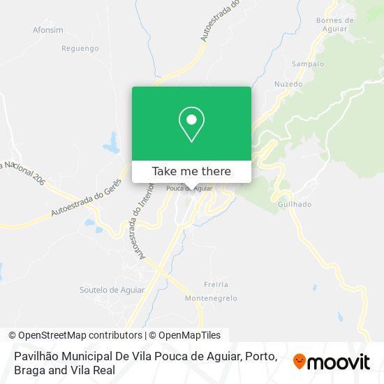 Pavilhão Municipal De Vila Pouca de Aguiar Karte