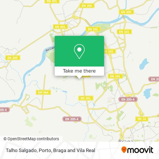 Mapa Talho Salgado