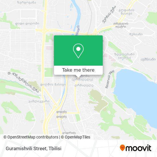 Guramishvili Street map