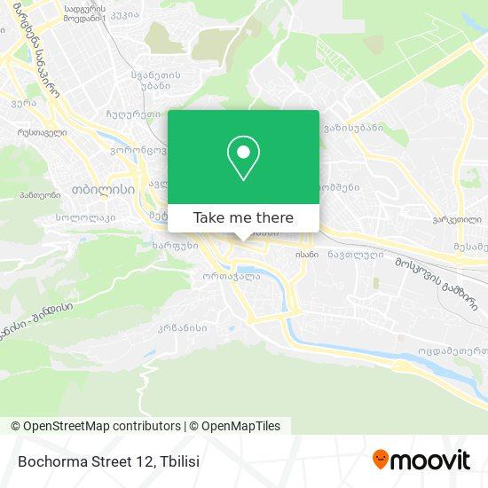 Bochorma Street 12 map