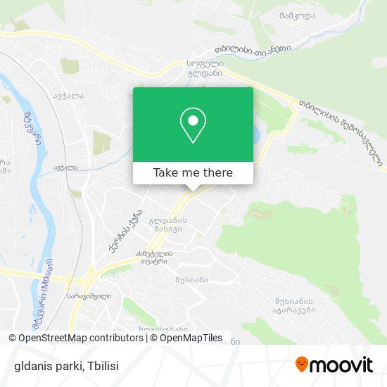 gldanis parki map