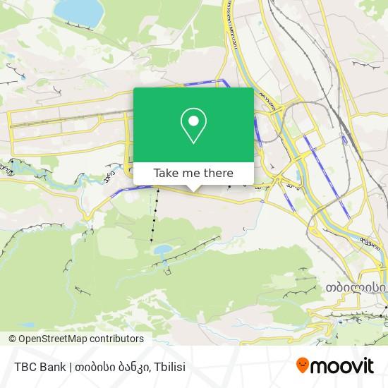 TBC Bank   თიბისი ბანკი map