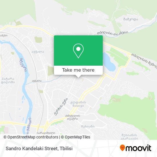 Sandro Kandelaki Street map