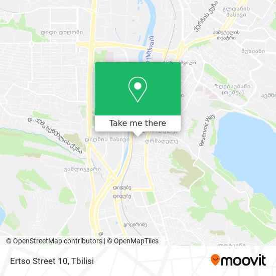 Ertso Street 10 map