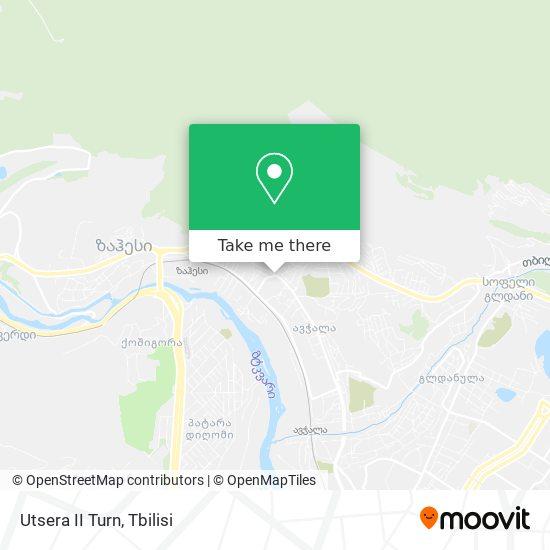 Utsera II Turn map