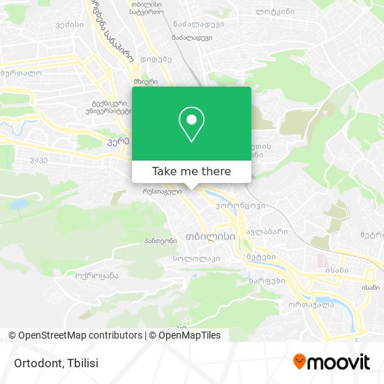 Ortodont map