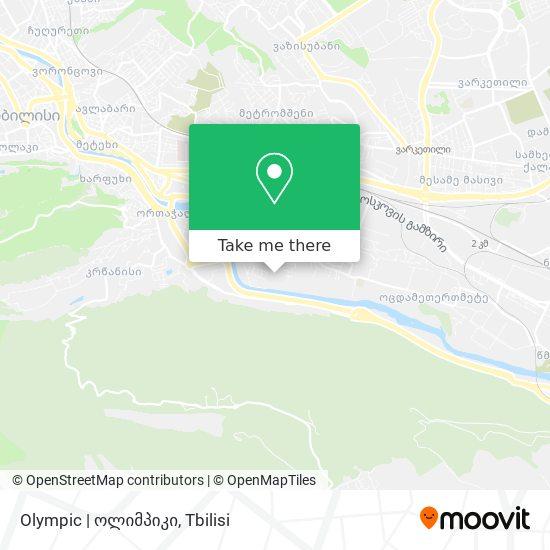 Olympic | ოლიმპიკი map