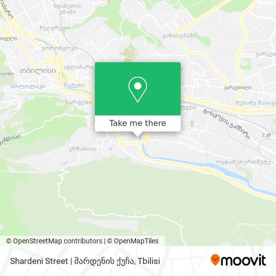 Shardeni Street   შარდენის ქუჩა map