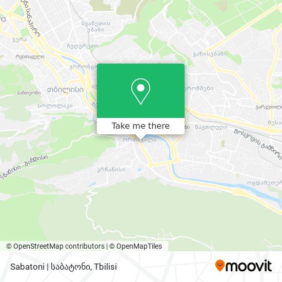 Sabatoni | საბატონი map