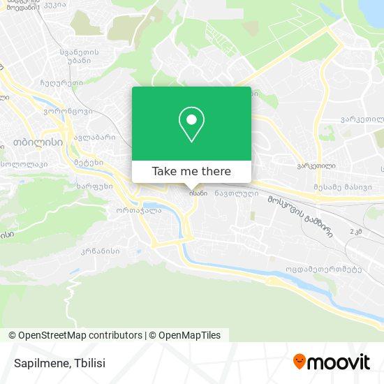 Sapilmene map