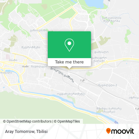 Aray Tomorrow map