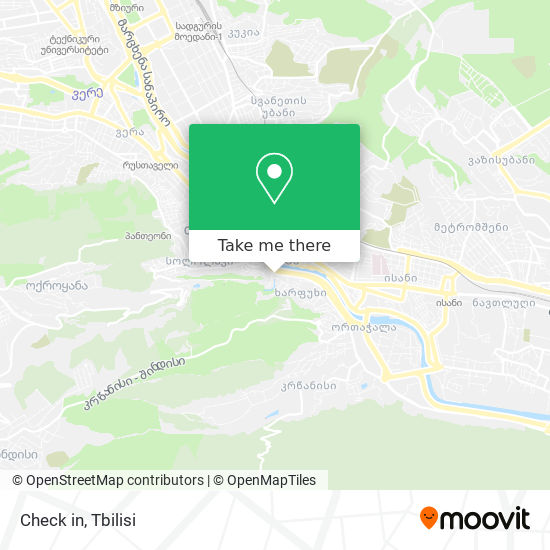 Check in map