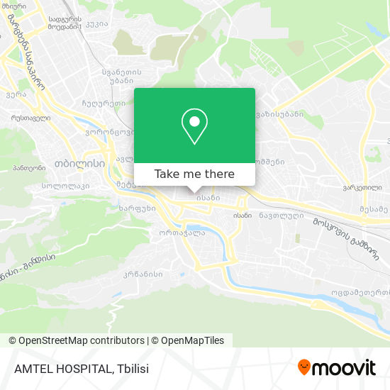 AMTEL HOSPITAL map