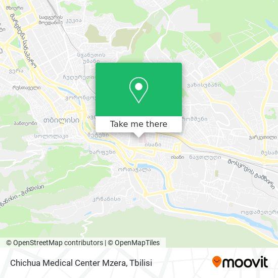 Chichua Medical CenterMzera map