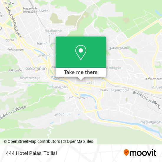 444 Hotel Palas map